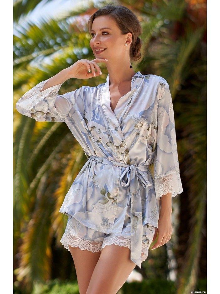 Foto-pizham-predstavleny-magazinom Пижама с шортами — комфортный сон и красота