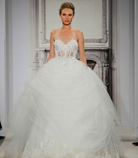 1418680569svadebnyeplatyapninatornai201415 Коллекция свадебных платьев от Pnina Tornai