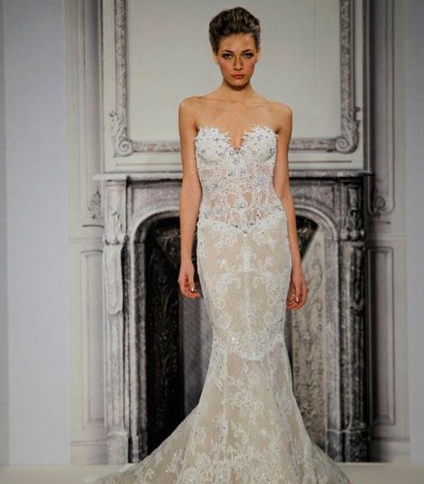 1418680591svadebnyeplatyapninatornai201417 Коллекция свадебных платьев от Pnina Tornai