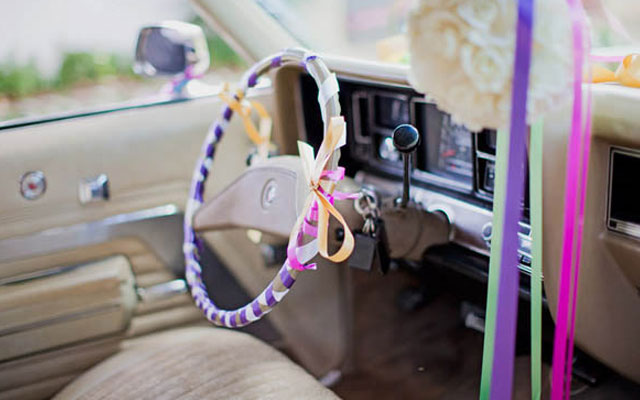 Как украсить машину изнутри