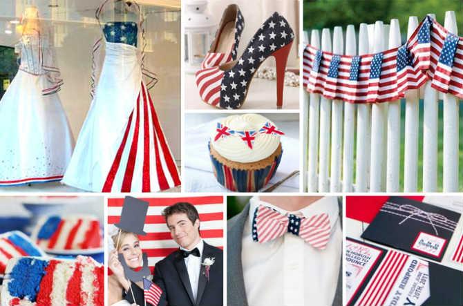 "svadba-rastsvetka-amerikanskogo-flaga Свадьба в стиле ""Американский флаг"": несколдько идей и советов"
