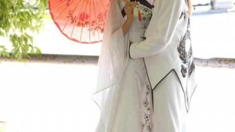 Свадьба с японской направленностью и мотивами