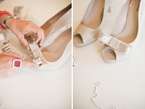 Как сделать бантик на туфли