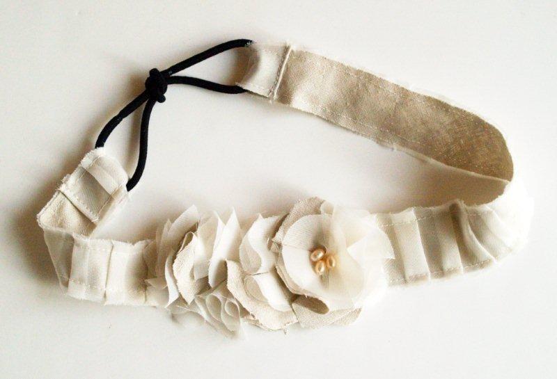Как сшить ободок на голову из ткани своими руками 27