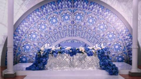 Декор зимней свадьбы от декоратора Лидии Симоновой