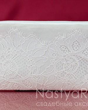 продажа Косметичка для невесты Лили. Белая