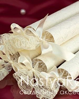 продажа Мешочек для свадебного свитка